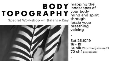 Balance Day : BODY TOPOGRAPHY