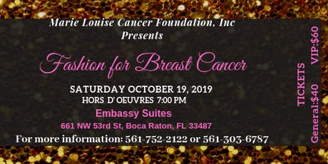 Fashion for Breast Cancer tickets