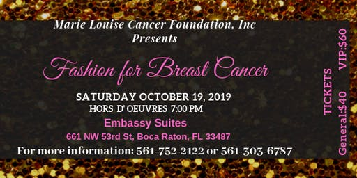 Fashion for Breast Cancer