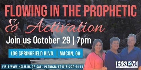 Flowing in the Prophetic & Activation tickets