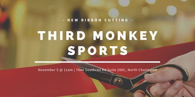 Third Monkey Sports Ribbon Cutting