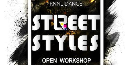 RnnL Street Style Workshop - Free Admission - 7-8:30pm, October 29 Tickets