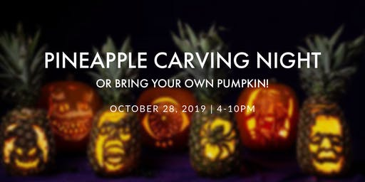 Pineapple Carving Night