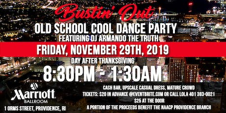 Bustin'Out Old School Cool Dance Party tickets