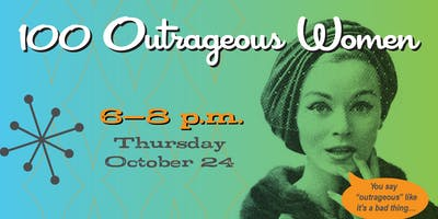 Outrageous Women Event featuring Mary Pat Kelly