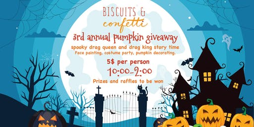 Biscuits & Confetti 3rd annual pumpkin giveaway