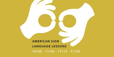 American Sign Language Lessons