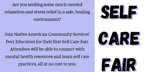 Self-Care Fair tickets