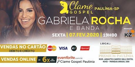 Clame Gospel Paulínia ingressos