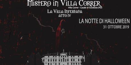 Mistero in Villa Correr|LA NOTTE DI HALLOWEEN biglietti