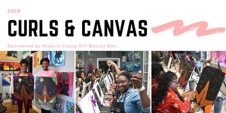 Curls & Canvas 2019 Sponsored by Make It Classy DIY Beauty Box tickets