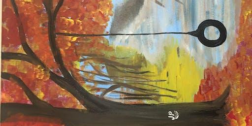 Paint&Sip 10/29 Fall Hideaway