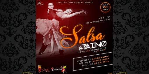 Free Salsa Sunday at Taino Prime by Silver City Entertainment