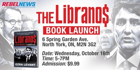 The Libranos by Ezra Levant Book Signing - Toronto tickets