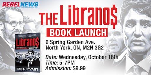 The Libranos by Ezra Levant Book Signing - Toronto