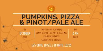 Pumpkins, Pizza and Pinot Noir/Pale Ale