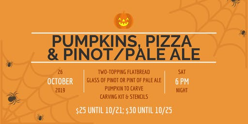 Pumpkins, Pizza and Pinot Noir/Pale Ale