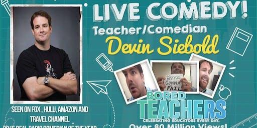 Comedian Devin Siebold - $20
