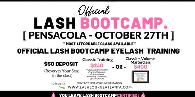 Lash BootCamp - 1 Day Eyelash Extension Training [Pensacola]