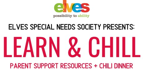 LEARN & CHILL - Family Support Resources & Chili Dinner tickets