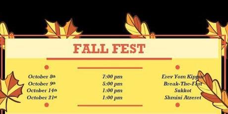 2019 Fall Fest tickets