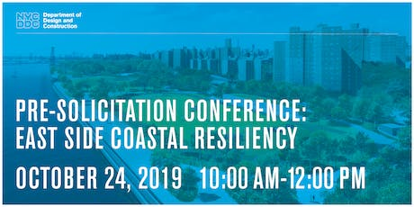 Pre-Solicitation Conference: East Side Coastal Resiliency tickets