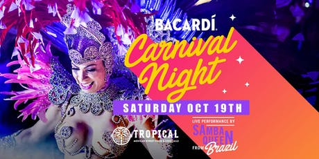 Bacardi Tropical carnival tickets