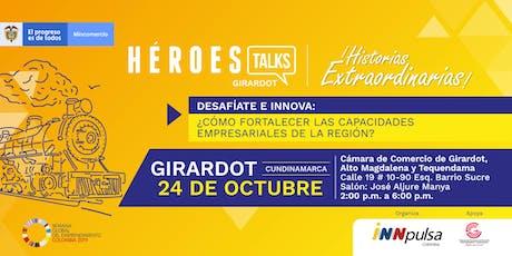 Héroes Talks - Girardot tickets