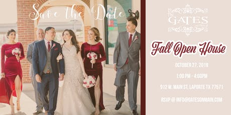 The Gates Fall Open House tickets