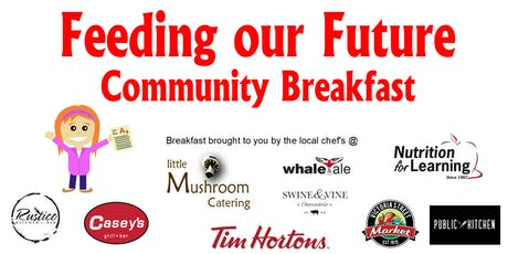 Feeding our Future Community Breakfast  tickets