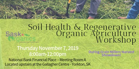 Soil Health & Regenerative Organic Agriculture Workshop tickets