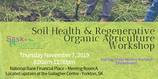 Soil Health & Regenerative Organic Agriculture Workshop