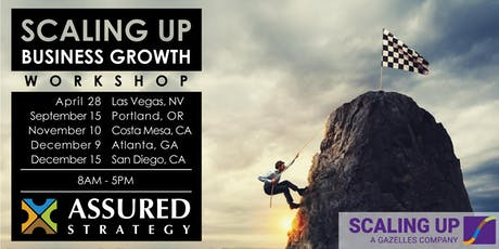 2020 Scaling Up Business Growth Workshop - Las Vegas, NV tickets