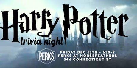 Harry Potter Trivia : Trivia NIGHT 1 at Perks Horsefeathers tickets