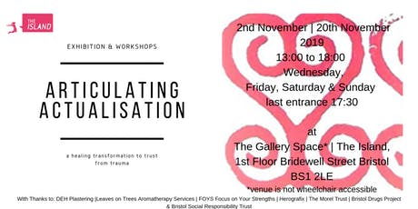 Articulating Actualisation | Solo art Exhibition and Activity Wall tickets