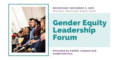 Gender Equity Leadership Forum