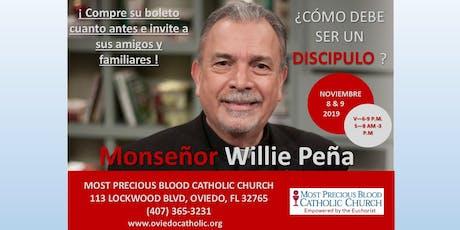 Spanish Mission with Monseñor Willie Peña entradas