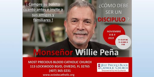 Spanish Mission with Monseñor Willie Peña
