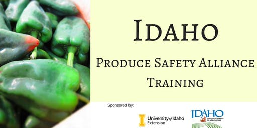 2020 Boise Produce Safety Alliance Training