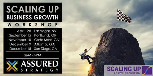 2020 Scaling Up Business Growth Workshop - Portland, OR