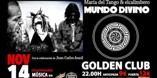 María del Tango & elcalimbero MUNDO DIVINO