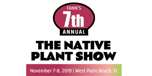 Native Plant Show: FREE General Admission - special offer