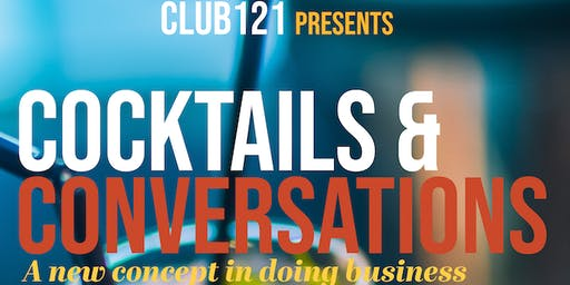 Cocktails & Conversations Wednesdays