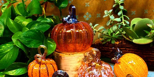 Glass Pumpkin Show & Sale with live glassblowing demonstrations!!!