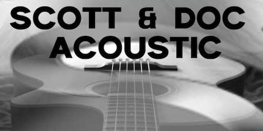 Scott & Doc Acoustic Debut at The Hidden Still