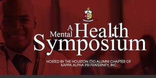 A Mental Health Symposium (2019 Edition)