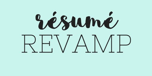 [WEBINAR] Revamping Your Teacher Resume
