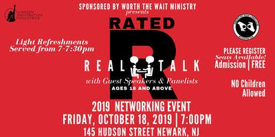 Rated-R (Real Talk) 2019 Networking Event