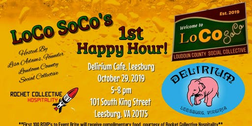 1st Loco Soco Happy Hour