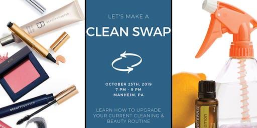Clean Swap Event